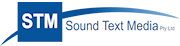 Sound Text Media Logo